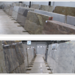Natural Stone Slab Selection Gallery
