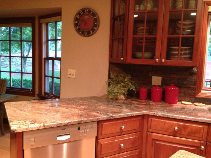 Kitchens miami circle marble fabrication for Perfect kitchen fabrication