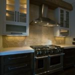 xTerwilliger AFTER Kitchen Stove Wall - laminated edge