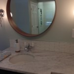 Cathy Cheek Carrara Honed Bathroom Project 2
