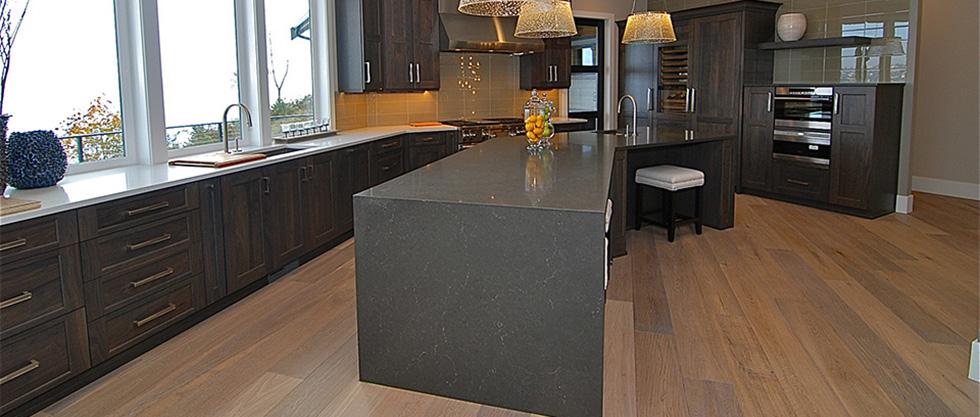Piatra Grey Caesarstone Miami Circle Marble Amp Fabrication