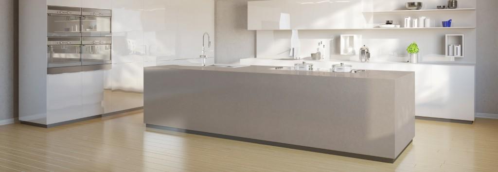 Silestone Arbeitsplatte nymbus silestone miami circle marble fabrication