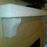 sandblasted-limestone-fireplace-mantel