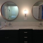 Cathy Cheek Carrara Honed Bathroom Project 1